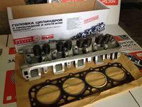 Головка блока цилиндров двигателя ПАЗ, ГАЗ-53, 66
